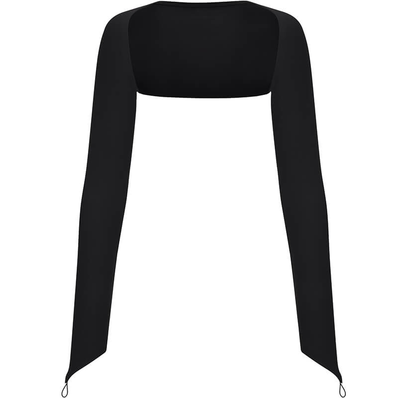 Pretty Long Sleeve Warm Up Ballet Shrug