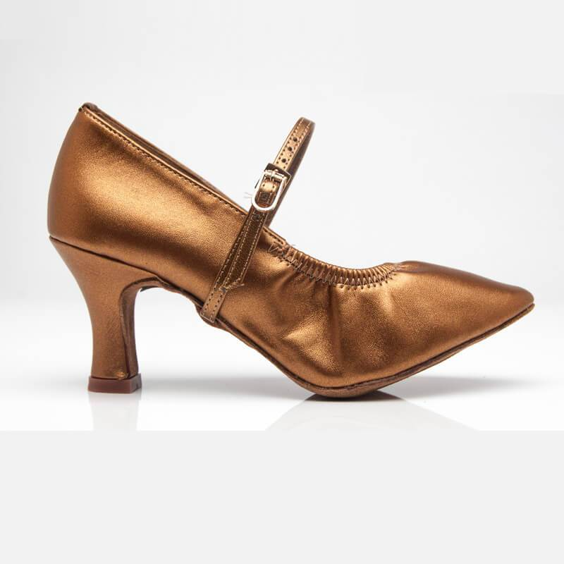 women bronze ballroom shoes 2