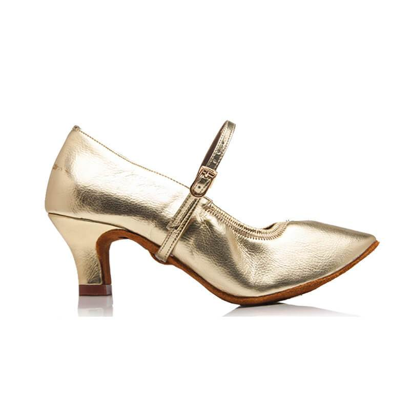 women gold ballroom shoes 2