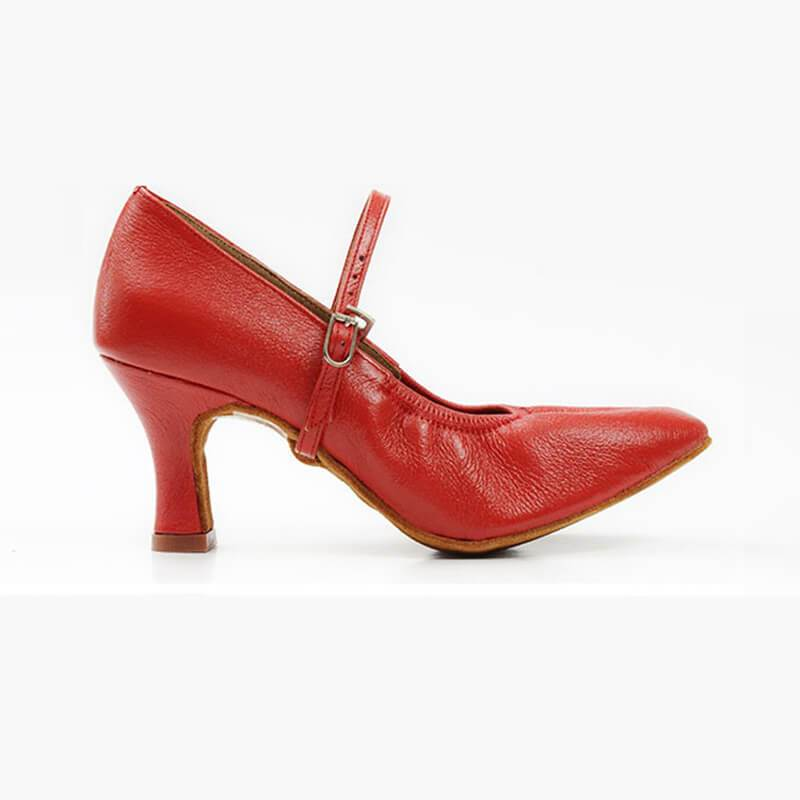 women red ballroom shoes 2