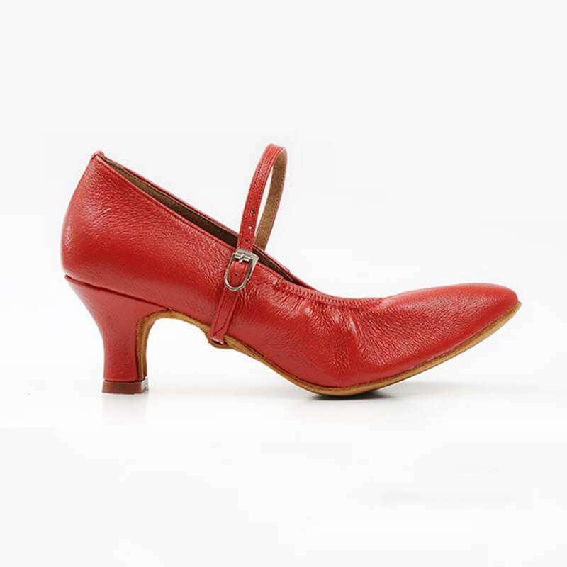 women red ballroom shoes