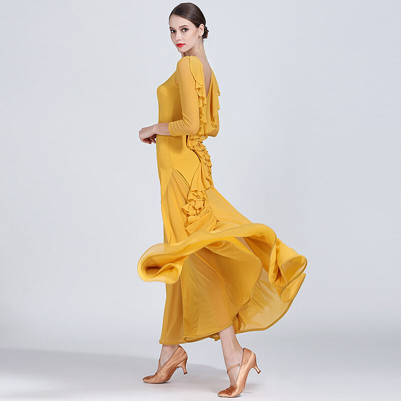 yellow ballroom dress 2