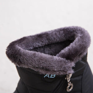 Ankle Boots For Women Boots Fur Warm Snow Boots--Add 2 to cart 10% Off