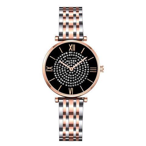 Montre Shaze or noir