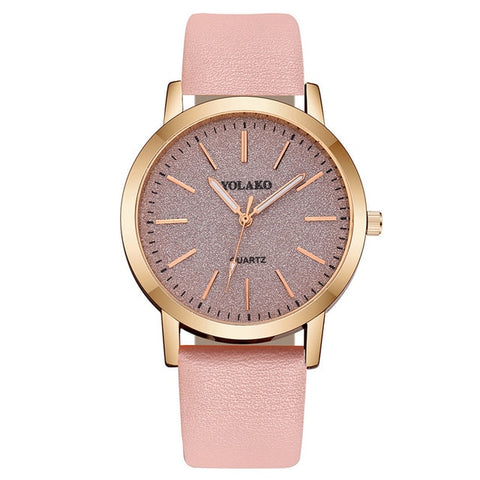 Montre Nelly Beige rosé