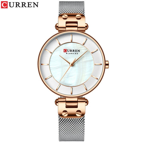 Montre Snow Or rose blanc