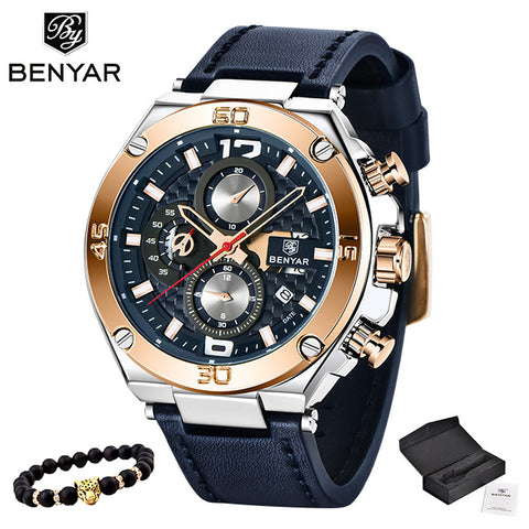 MONTRE Dark Navy  Chrono