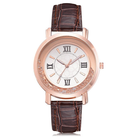 Montre  Rhine Strass marron