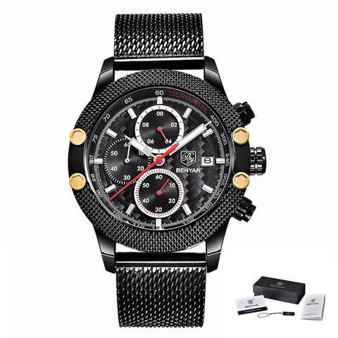 Montre Golden Black