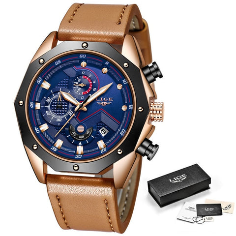 Montre Homme Lige Quartz Chrono - AVAE SHOP
