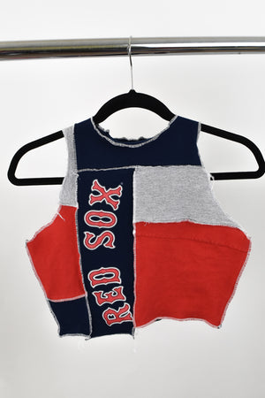 Upcycled Red Sox Scrappy Top