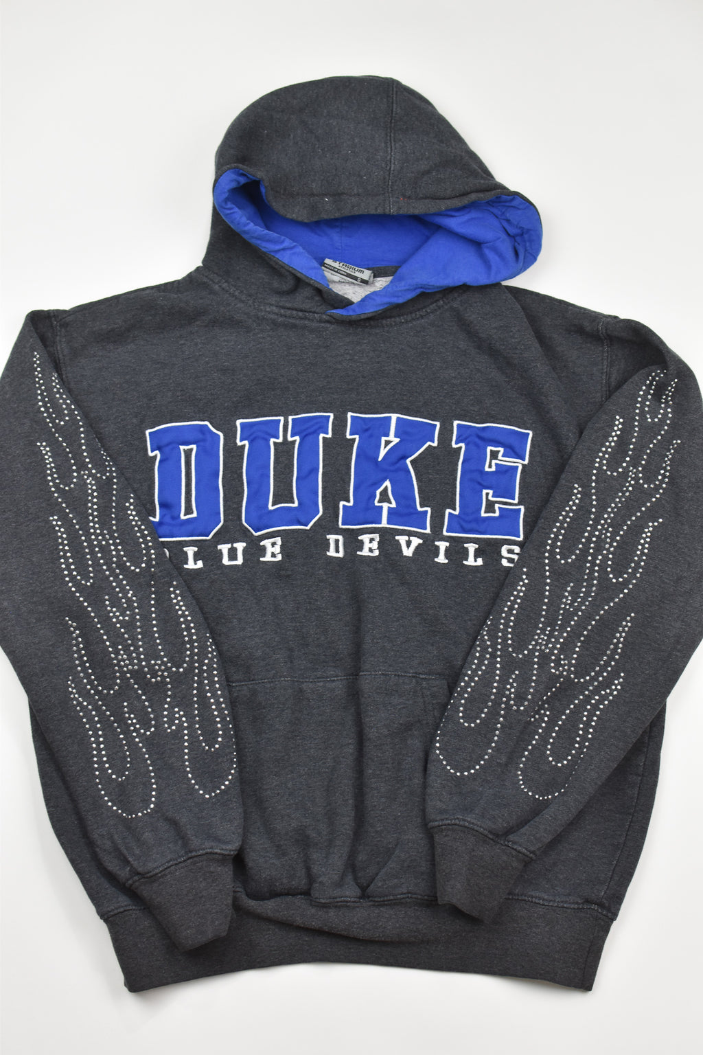 Upcycled Kansas State Denim Handkerchief Top