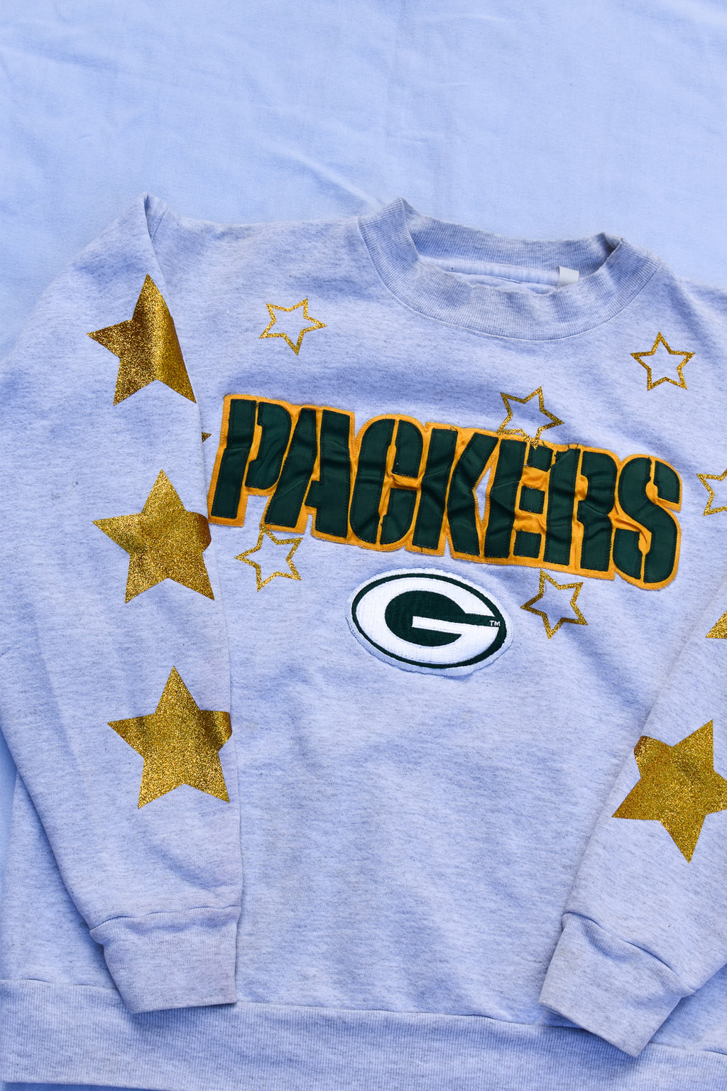 Upcycled Reworked Distressed Denim Jacket