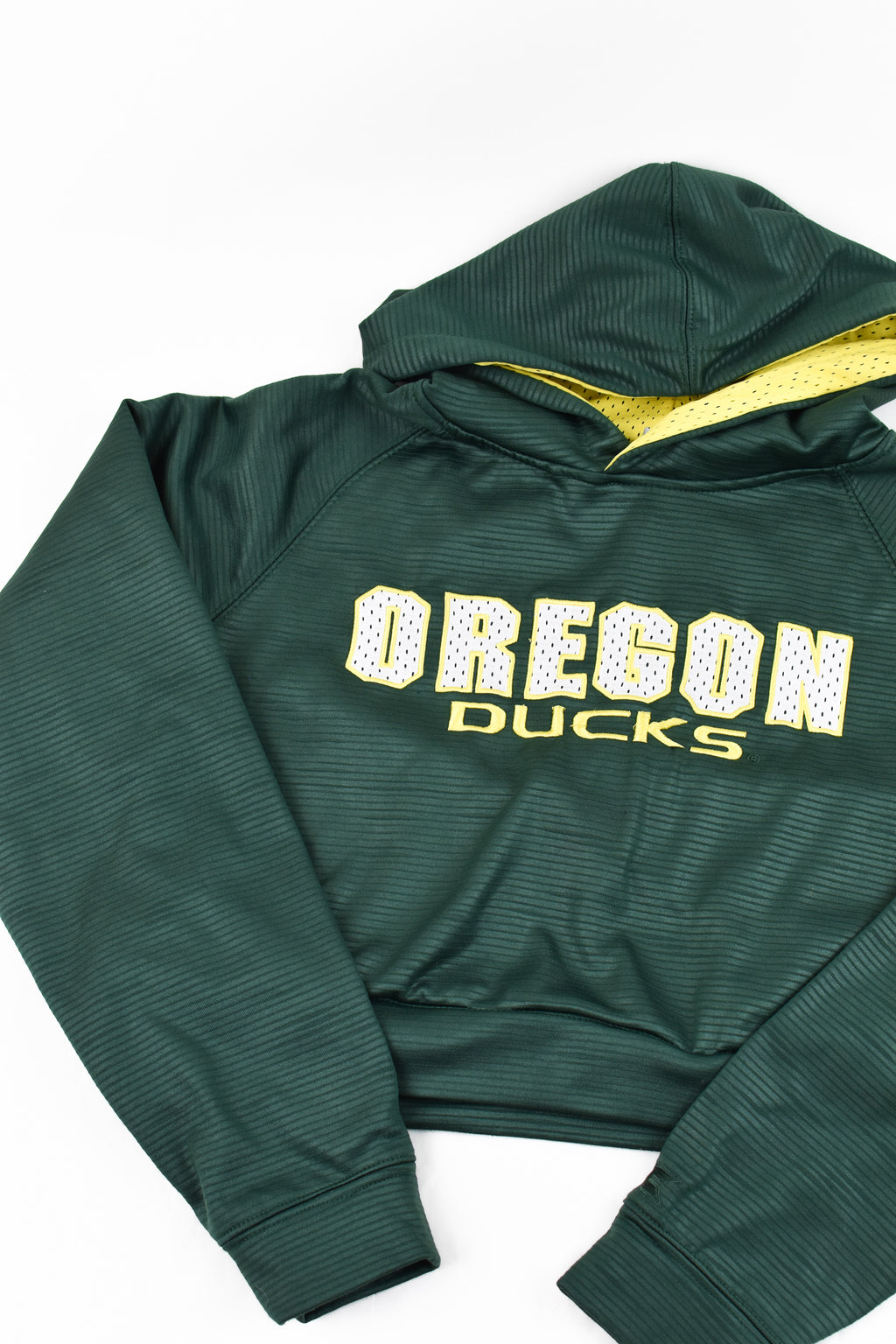 Upcycled VINTAGE Oregon Ducks Cropped Sweatshirt