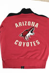 Upcycled VINTAGE Arizona Coyotes Star Rhinestone Sweatshirt