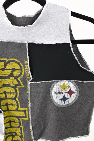 Upcycled Pittsburgh Steelers Scrappy Top