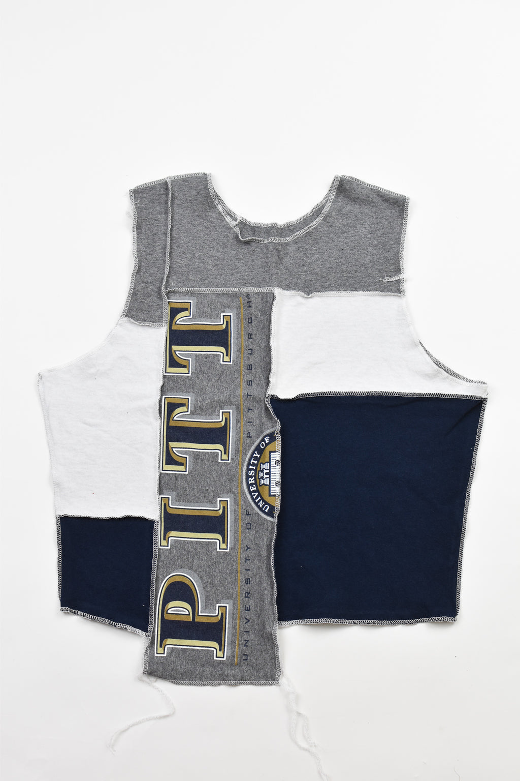 Upcycled Georgetown Bling Halter Top