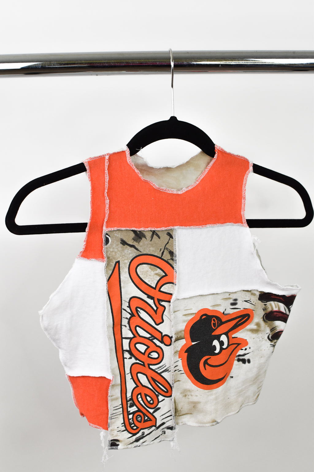 Upcycled Baltimore Orioles Scrappy Top
