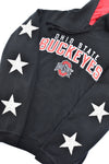 Upcycled Ohio State Star Rhinestone Sweatshirt
