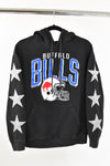 Upcycled Buffalo Bills Star Rhinestone Sweatshirt