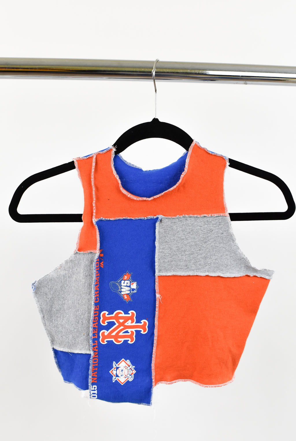 Upcycled New York Mets Scrappy Top