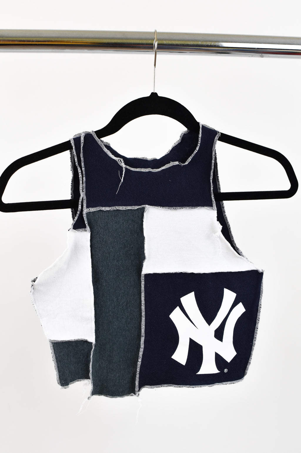 Upcycled New York Yankees Scrappy Top