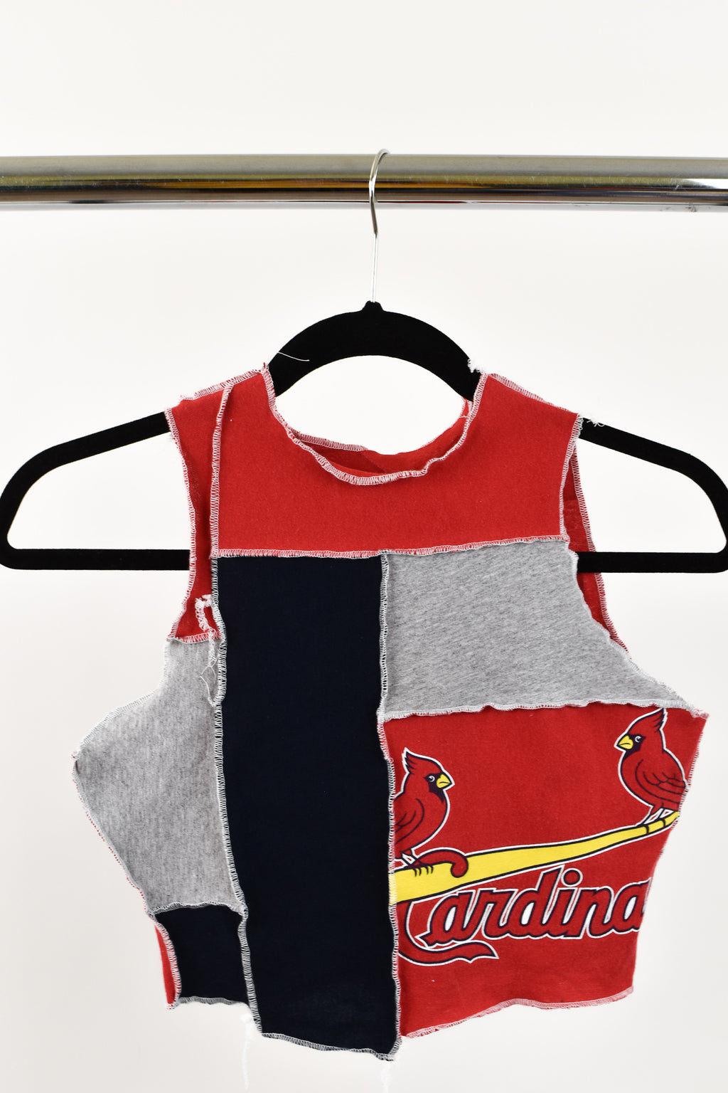 Upcycled St. Louis Cardinals Scrappy Top