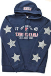 Upcycled VINTAGE University of Pennsylvania Star Rhinestone Sweatshirt