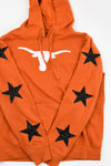 Upcycled University of Texas Star Rhinestone Sweatshirt