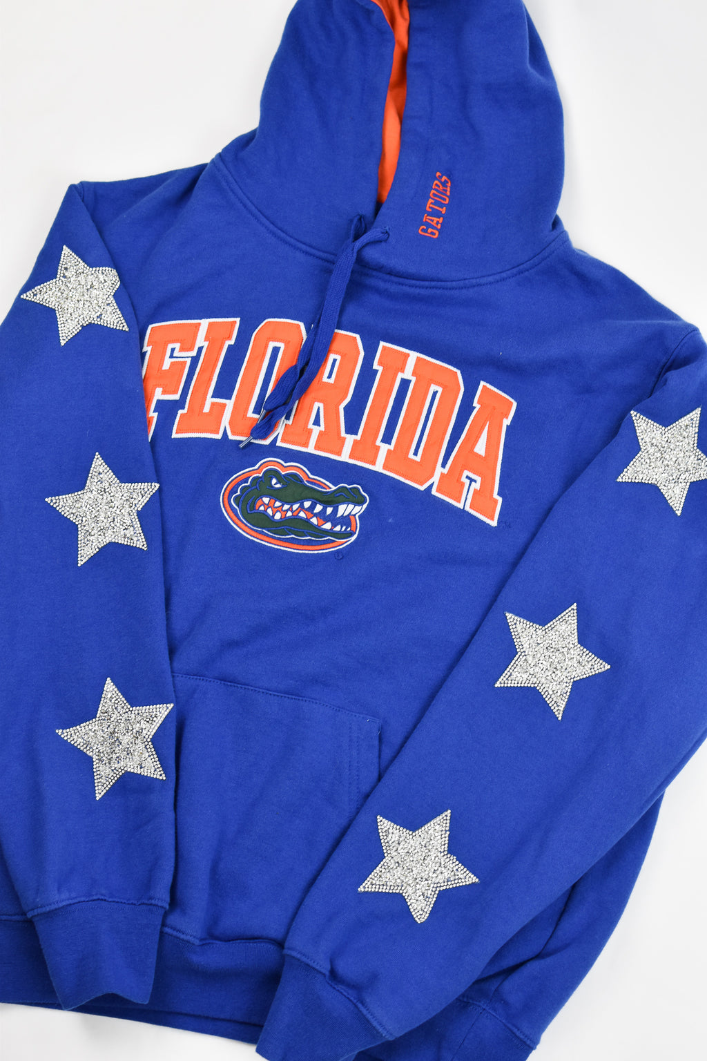 Upcycled VINTAGE University of Florida Star Rhinestone Sweatshirt