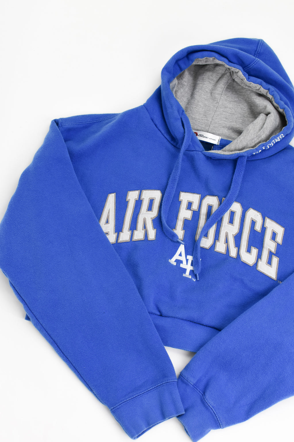 Upcycled VINTAGE Air Force Cropped Sweatshirt