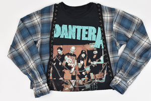 Upcycled Pantera Chain Rock Top