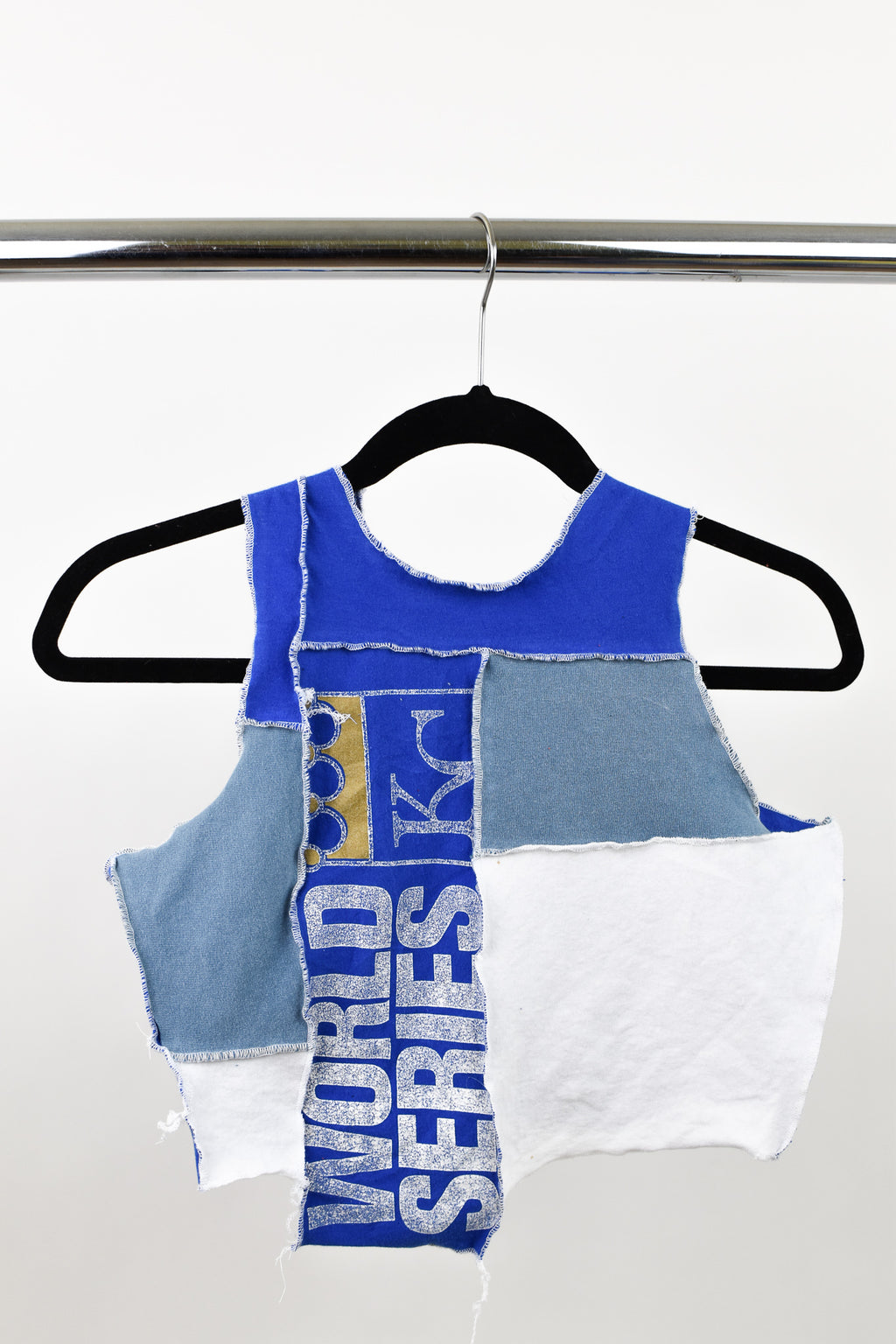 Upcycled Kansas City Royals Scrappy Top