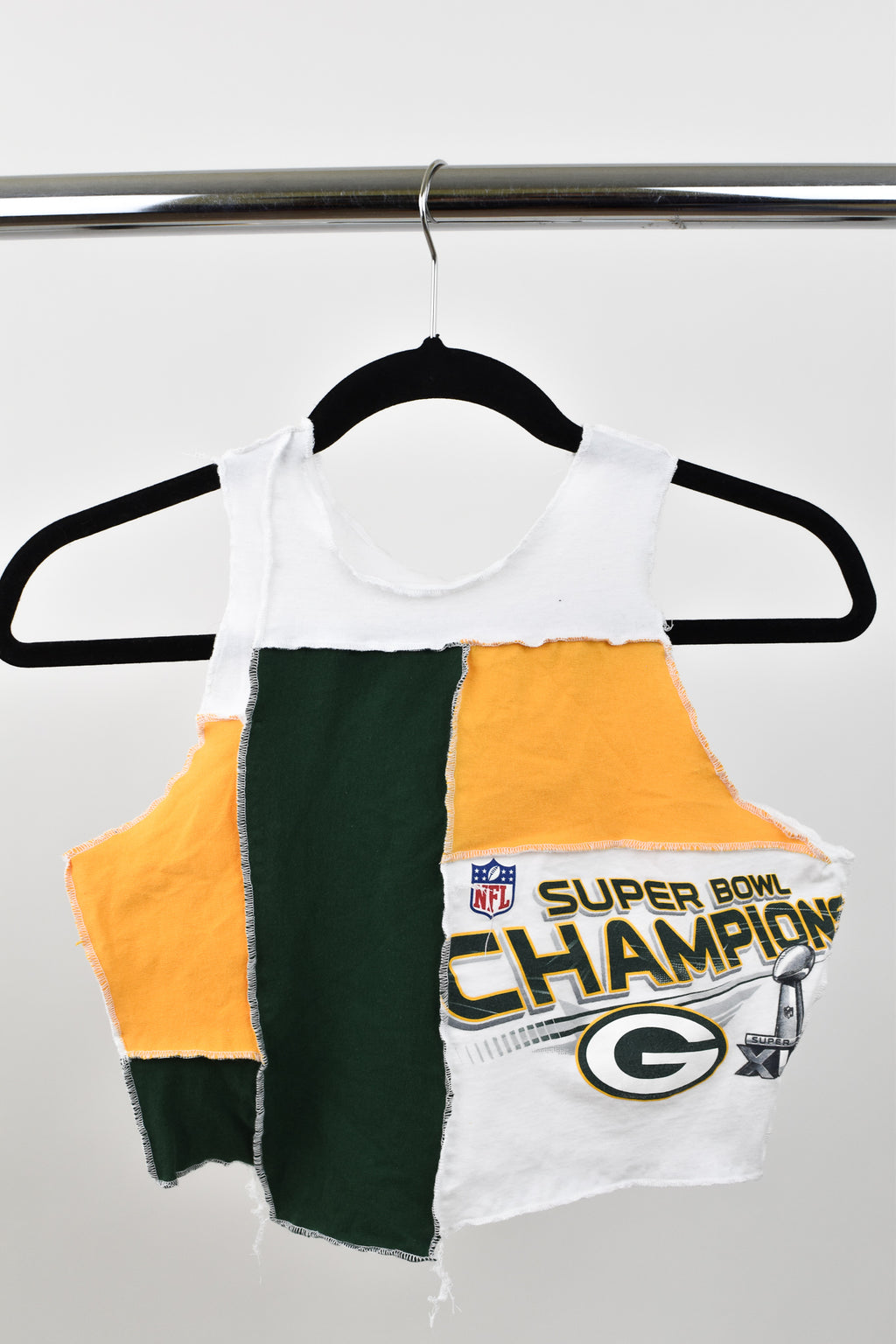 Upcycled Green Bay Packers Scrappy Top
