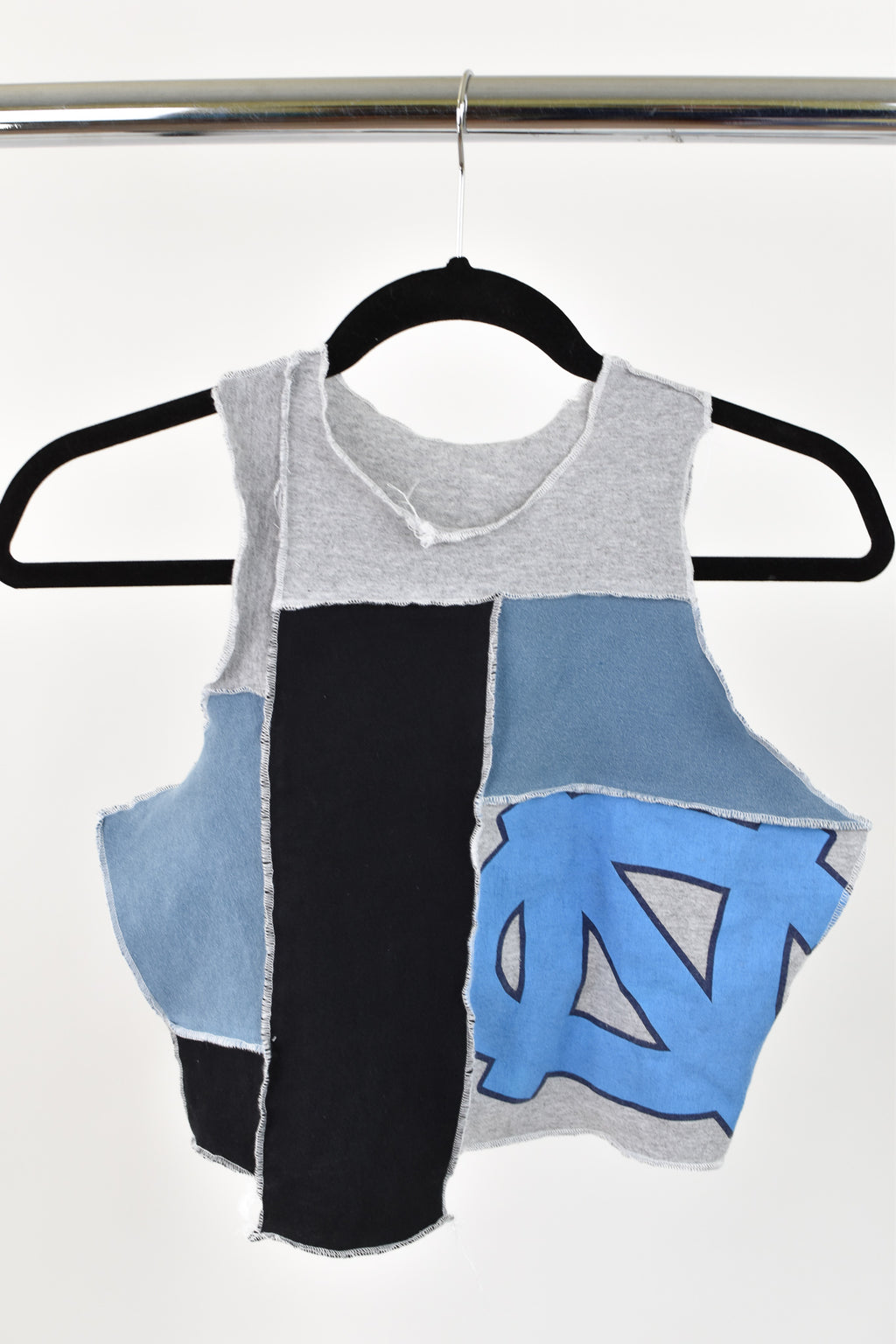 Upcycled University of North Carolina Scrappy Top