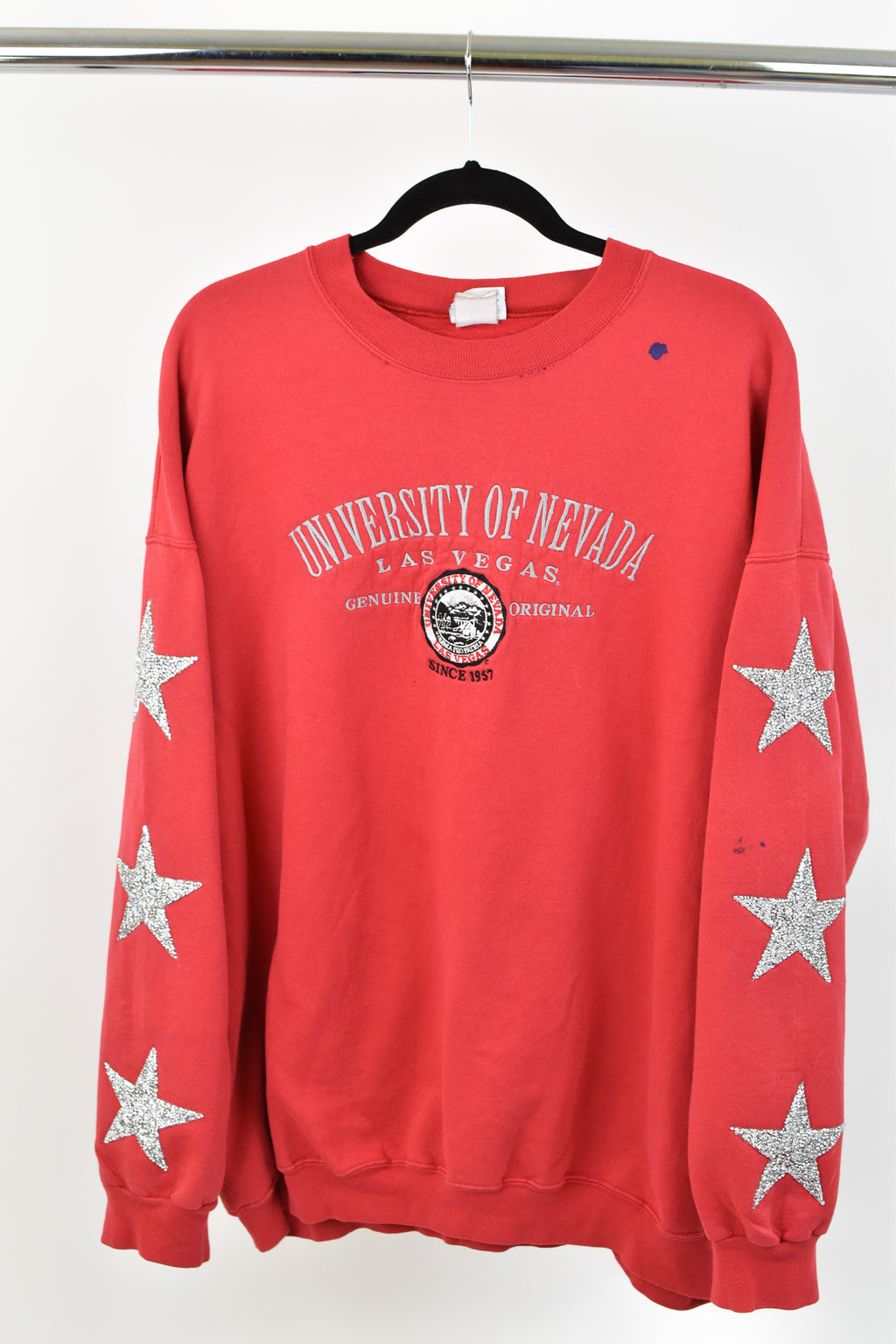 Upcycled VINTAGE University of Nevada Sweatshirt