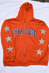 Upcycled Syracuse Star Rhinestone Sweatshirt