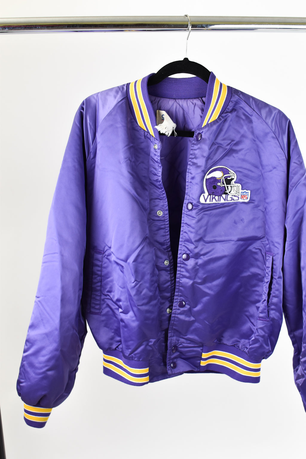 Vintage Minnesota Vikings Satin Jacket