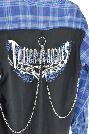 Upcycled Harley Davidson Reverse Chain Rock Top