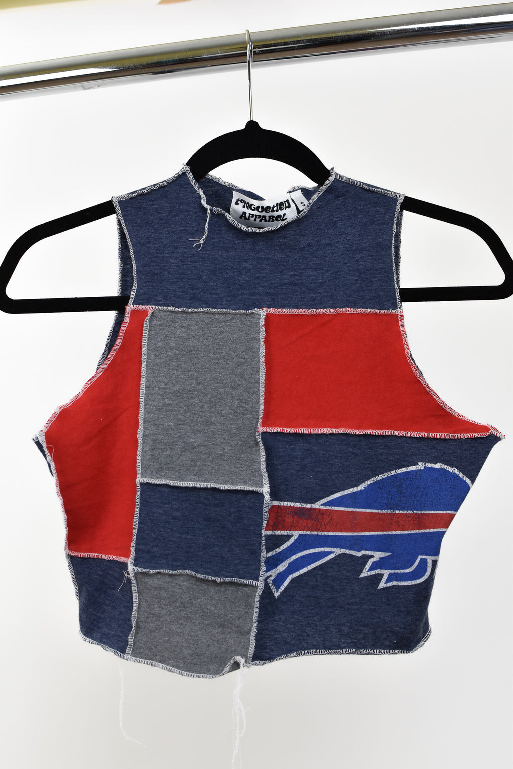Upcycled Buffalo Bills Scrappy Top