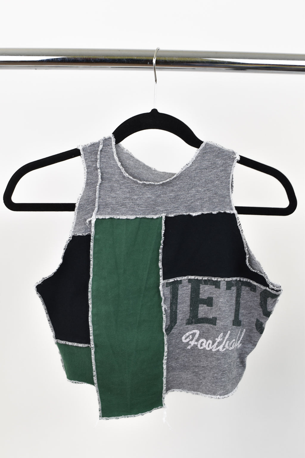 Upcycled New York Jets Scrappy Top