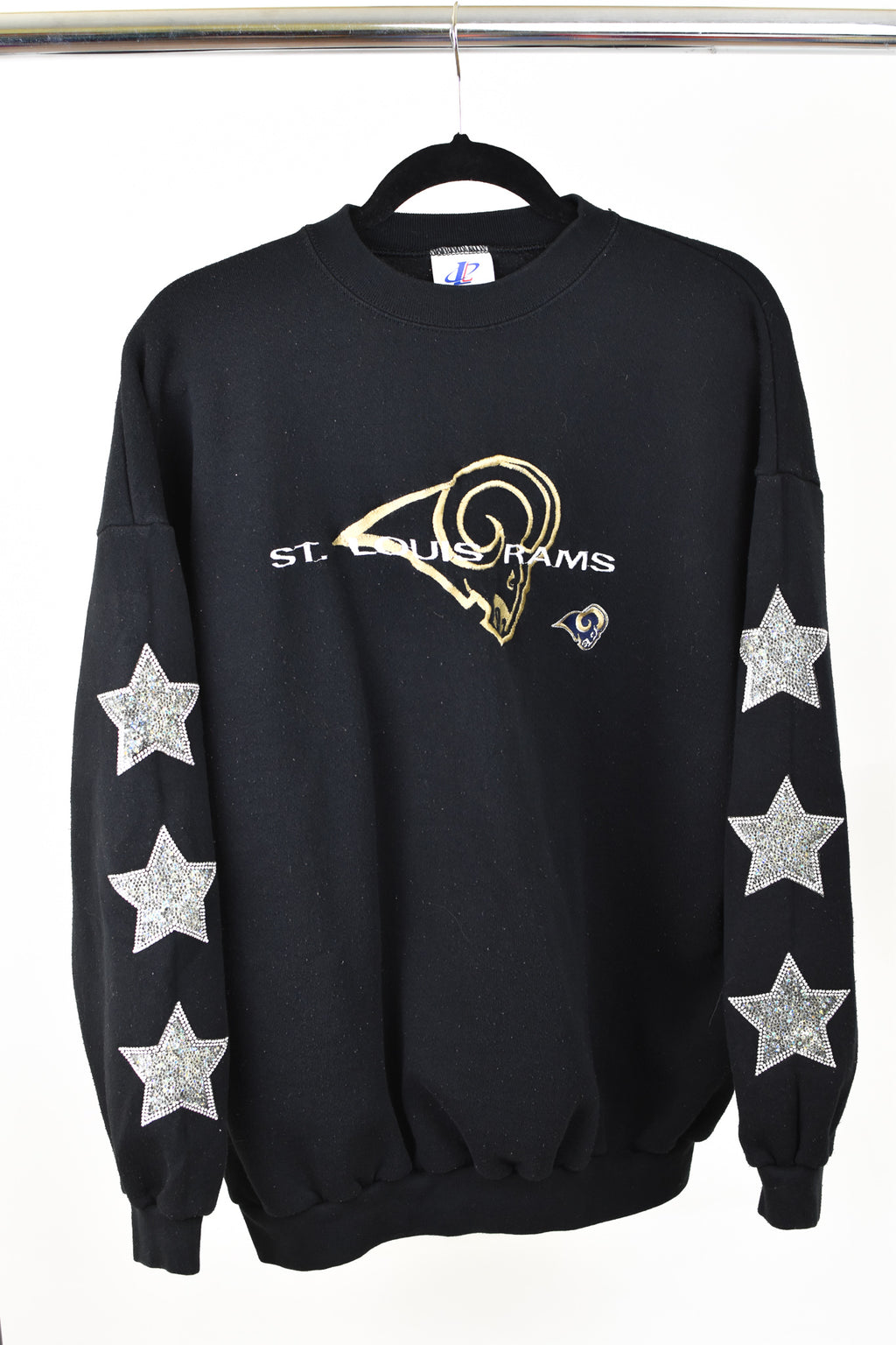 Upcycled VINTAGE Los Angeles/St. Louis Rams Sweatshirt
