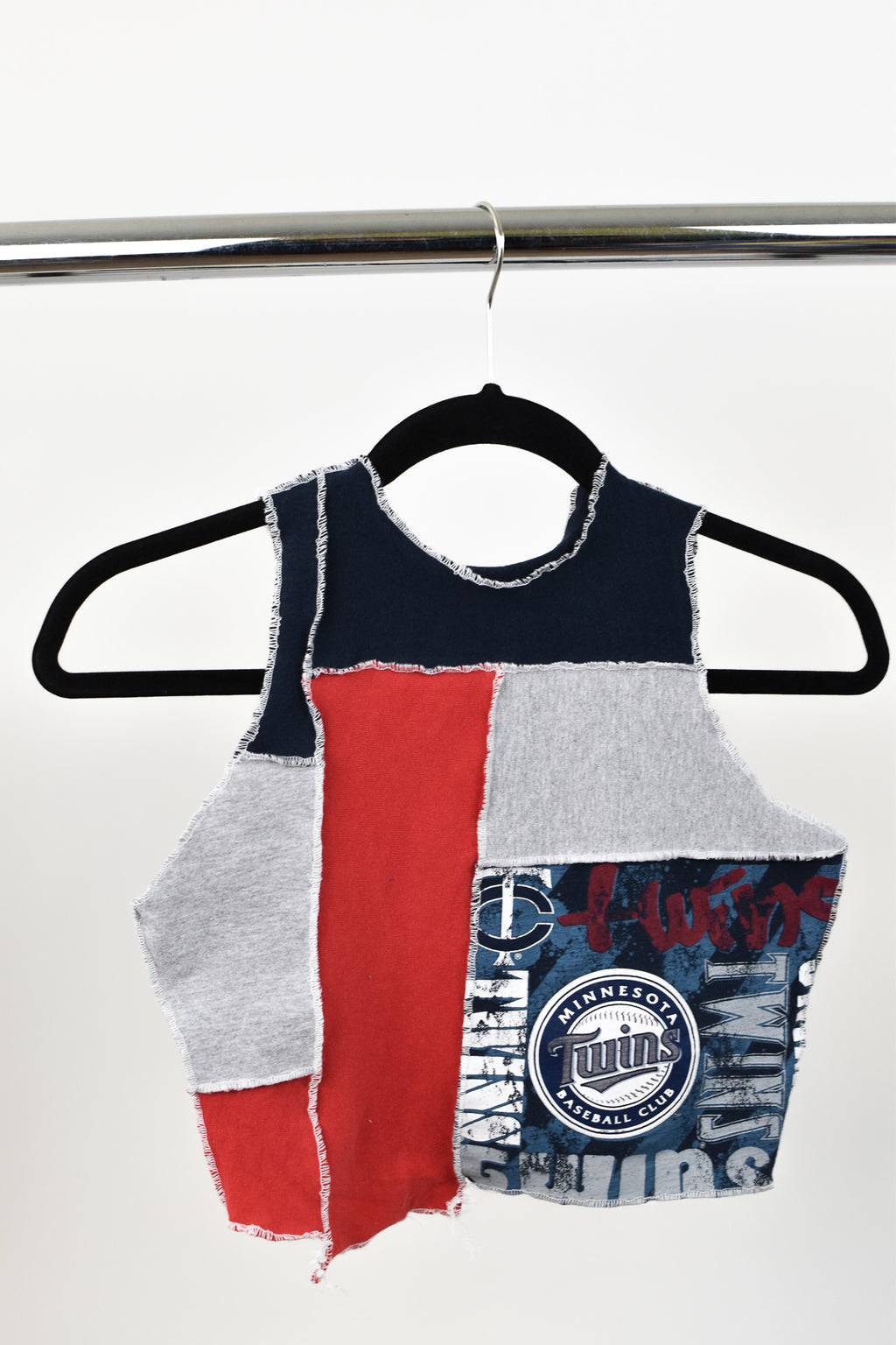 Upcycled Minnesota Twins Scrappy Top