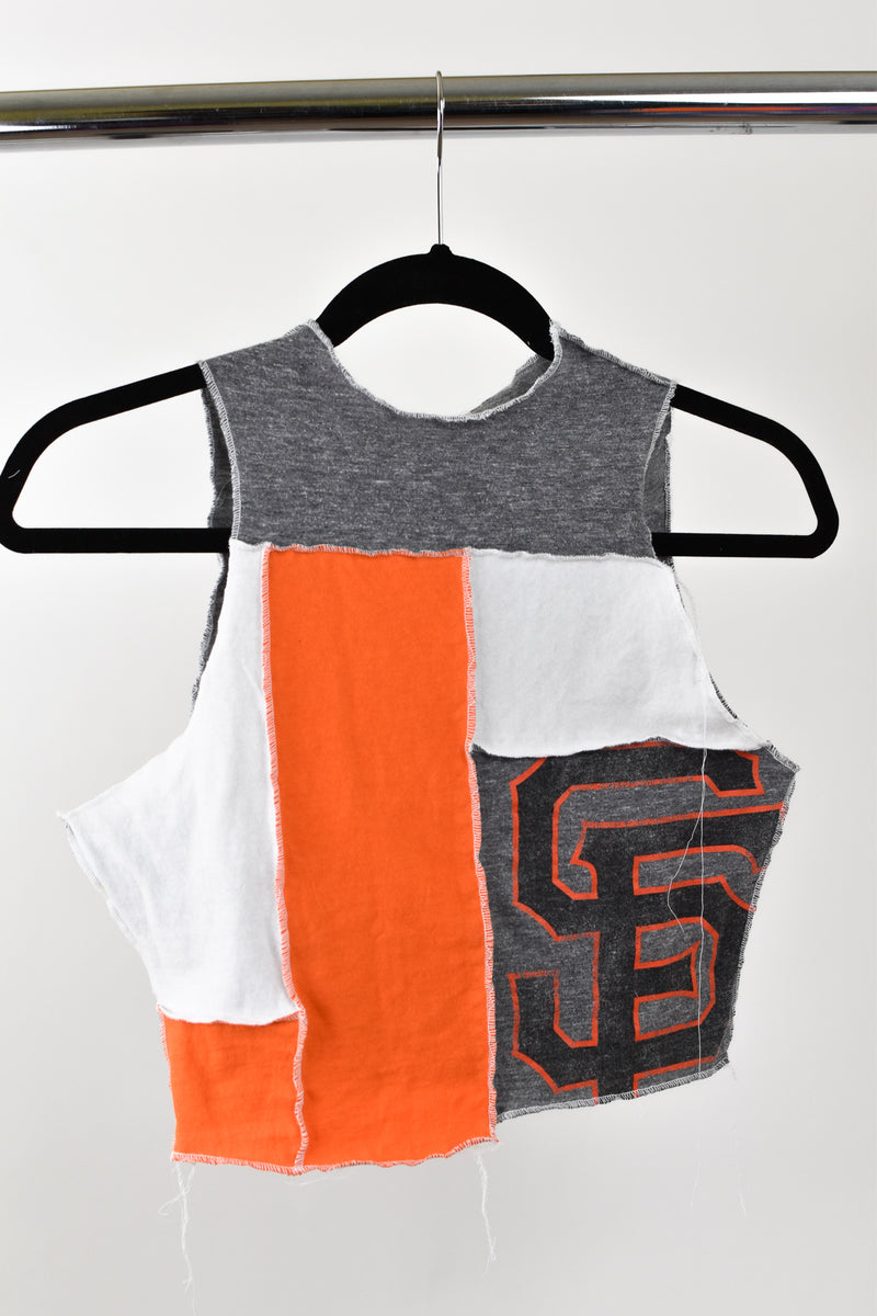 Upcycled San Francisco Giants Scrappy Top