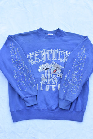Upcycled Nationals Denim Handkerchief Top