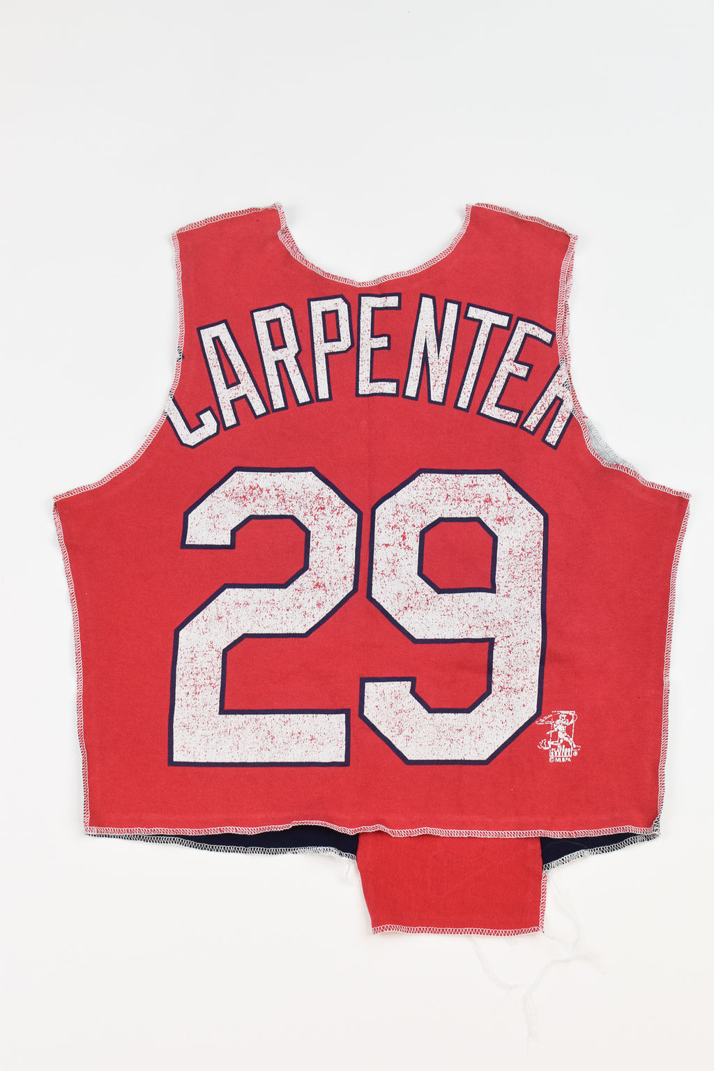 Upcycled Old Dominion University Cropped Rhinestone Chain Shirt