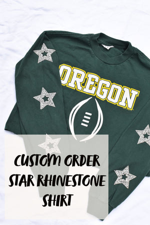 Custom Order Star Rhinestone Shirt