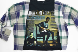 Upcycled Shawn Mendes Chain Rock Top