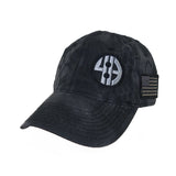 """United Under God"" Unstructured Camo Cap w/Flag (3 Colors Available)"