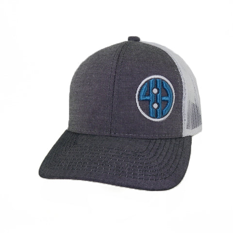 Chambray Mesh Back Cap